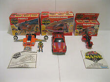 Kenner Mask Near Complete Vehicle Lot of 3 In Box Thunderhawk Vampire Firefly
