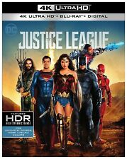 Justice League 4K UHD 01/18 4K (used) Blu-ray Only Disc Please Read