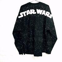 Disney Parks Adult Black Puff Ink Star Wars Rebel Alliance Spirit Jersey 2XL NEW