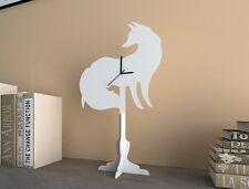 White Fox - Silhouette Table Clock