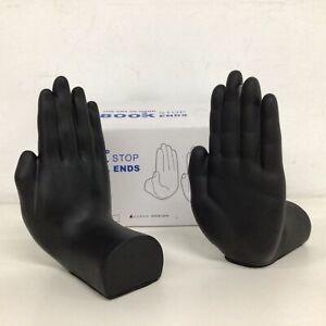 The Art of Hand Book Stop Ends Black Uyesa Design Ceramic Like NEW Ceramic #404