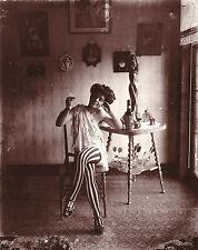 """Ernest Bellocq 1912 Vintage Storyville Prostitute - 17""""x22"""" Fine Art Print-01260"""
