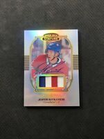 2019-20 UPPER DECK STATURE JESPERI KOTKANIEMI PORTRAIT AUTO PATCH #ed 9/33