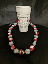 1992 Copper Bowl Washington State Cougars Collectible Cup w/ Aloha Bowl Beads