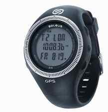 Soleus GPS 2.0 Digital Running Watch - Black - NEW! SG002-004