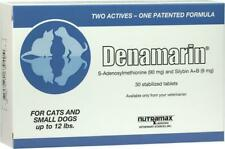 Nutramax Denamarin Small Dogs & Cats up tpp 12lb 30 Stabilized Tablets
