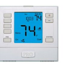 Pro1 Iaq T755S Sensor Compatible Touchscreen 3 Hot/2 Cold 7 Day Thermostat with