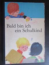 Bald bin ich ein Schulkind-Vorschule-Fibel-DDR Schulbuch- 1971