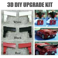3D DIY upgrade KIT car tail Spoilers FOR Siege Sideswipe Siege Red Alert - 1pair