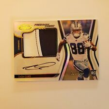2020 CERTIFIED ROOKIE 2CLR PATCH AUTO CEEDEE LAMB RC SP S#027/249 CARD#205 HOTT!