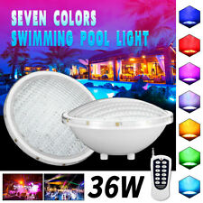LED Swimming pool lighting Spa Lights Bulb AC/DC RGB Colors Changing 36W 12V