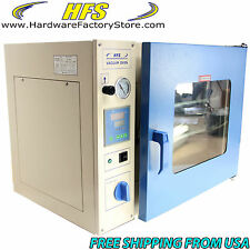 "HFS Brand 1.9 Cu Ft.16X14X14"" LAB Vacuum Oven Degassing Drying Oven 482F Herbal"