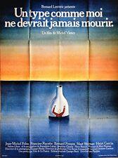 Jean-Michel FOLON * UN TYPE COMME MOI NE DEVRAIT JAMAIS MOURIR * 120 x 160 cm