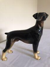 More details for coopercraft ceramic doberman dog ornament