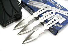 UNITED Cutlery LIGHTNING BOLT Throwing 3 Knife Set + Shoulder Harness! UC1255