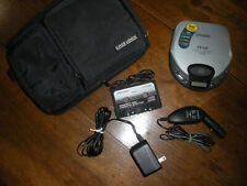 Portable, tested Koss Cd player, Ac adaptor & for cars a Dc converter with case