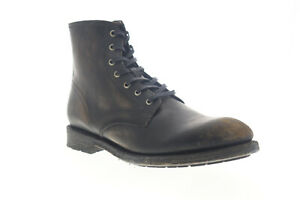 Frye Bowery Lace Up 87802 Mens Black Leather High Top Casual Dress Boots