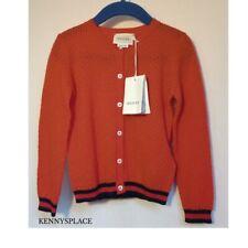 GUCCI Girls Wool Cardigan 36 Months *BNWT* RRP;£170 Red & Black Xmas