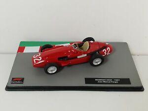 Voiture course 1/43 Formule 1 F1 IXO Maserati 250F 1957 Juan Manuel FANGIO RARE