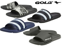 Gola Mens Sports Sliders Flip Flops Sandals Summer Beach Shower Mules Sizes 7-15