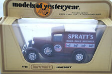 Matchbox of Yesteryear No:Y-22 1930 FORD Model A Van in SPRATTS Feed Code 1 MIB