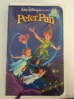 Peter Pan 1990 Black Diamond VHS VERY RARE