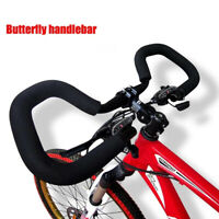 Bicycle Butterfly Handlebar MTB Road Bike with Sponge Cover Rest Handlebar