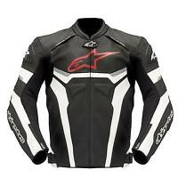 Alpinestars GP Pro Leather Jacket Sport Motorcycle/Motorbike Jacket - Black