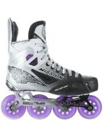 MISSION INHALER FZ-1 INLINE HOCKEY SKATES -(7.5EE, fits men's 9). Not Baked.