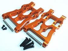 1/12 Scale HPI SAVAGE XS FLUX Alloy Aluminum FRONT/REAR LOWER ARM Orange- 1PR
