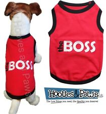 Parisian Pet Dog Embroidered T Shirt 100% Cotton The Boss Free USA Shipping