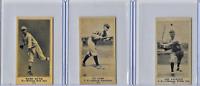 Babe Ruth Ty Cobb Shoeless Joe Jackson Aged Mini RePrint Baseball Card Yankees