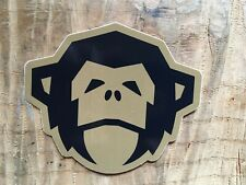 Howler Bros Desert Sand Small Monkey Head Sticker