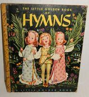 Vintage 1947 Hymns Little Golden Children Book