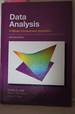 Data Analysis, A Model Comparison Approach, 2nd Ed, Judd HC2009, #18018