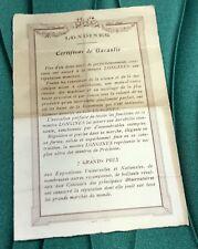LONGINES Vintage Certificate Guarantee
