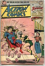 Action Comics #165-1952 vg+ Superman Vigilante Congo Bill