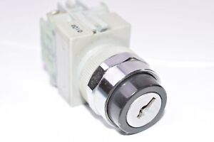 IDEC Model: ASW, 0201, 2-Position Key Switch