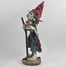 Gran Jardín Decoración de magia Pixie de pie de palo al aire libre de Hadas Elfo Regalo H33cm 39137