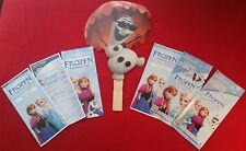 2014 & 2015 Frozen Summer Fun Ephemera Collection - Disney's Hollywood Studios