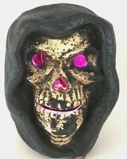 Halloween Skull LED Tabletop Crypt Halloween Haunted House Decor Lighted Prop
