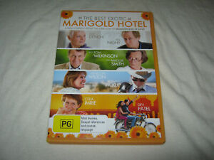 The Best Exotic Marigold Hotel - VGC - DVD - R4