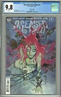 DCeased Dead Planet #1 CGC 9.8 Fourth 4th Print Edition Peach Momoko Cover