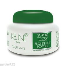 Keune So Pure Natural Balance Color Blonder Lift Powder 500 g AMMONIA FREE