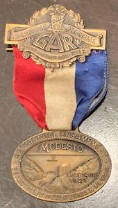 1923 GAR Encampment Badge/Medal Excellent Condition