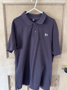 Patta Men's Polo shirt t-shirt Stussy Carharrt Parra Size Large Plum Purple