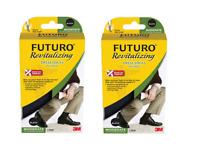 2 PACKS :: Futuro :: Revitalizing Dress Socks 4 Men :: LARGE :: (2 PAIRS TOTAL)