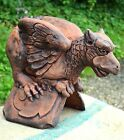 Griffin Gryphon roof finial 90° angled decorative ridge tile frost proof stone