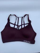 Victoria Secret Sports Bra 32B/ B70 Dark Maroon