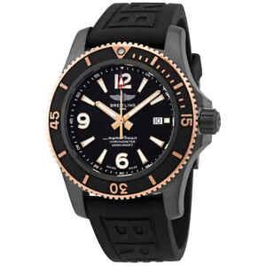 Breitling Superocean Automatic Chronometer Black Dial 46 mm Men's Watch